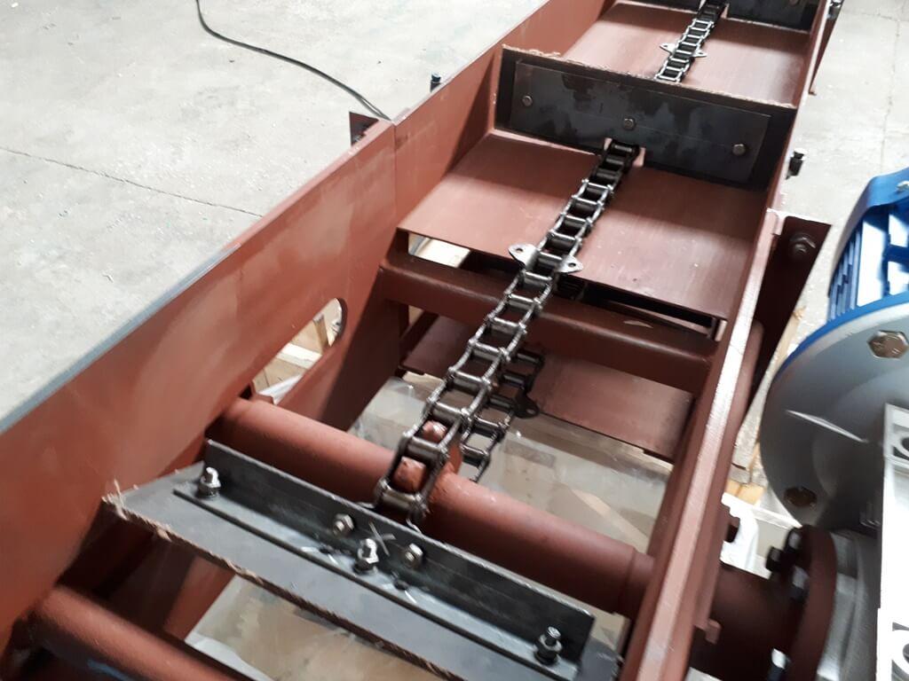 Скребковые транспортеры для опилок амортизаторы транспортер т3